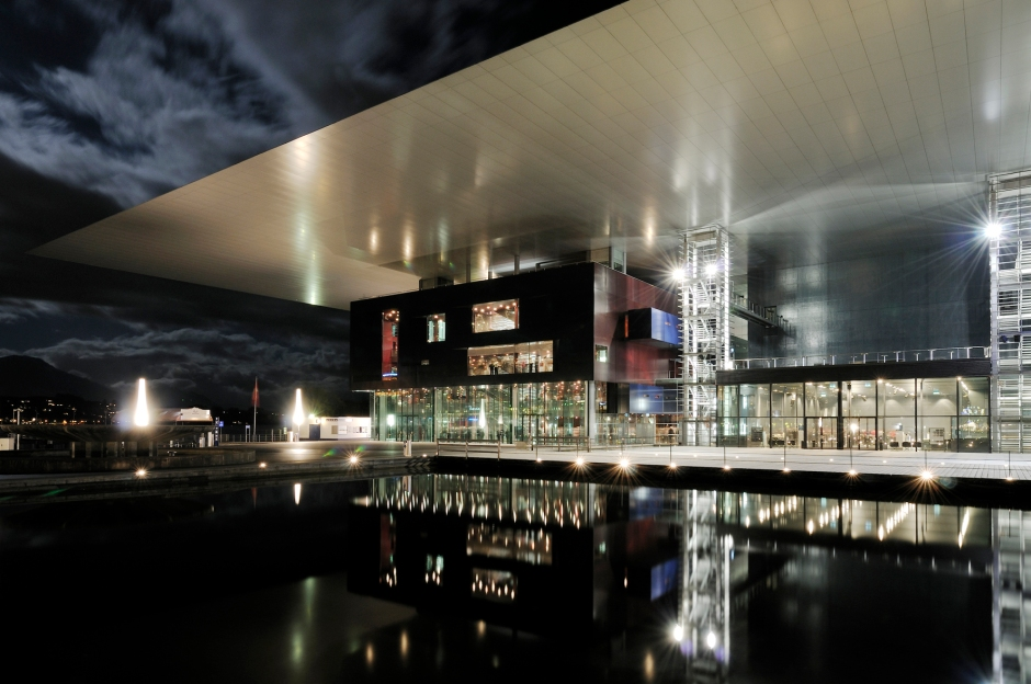 KKL Luzern, one of Europe's most amazing music venues