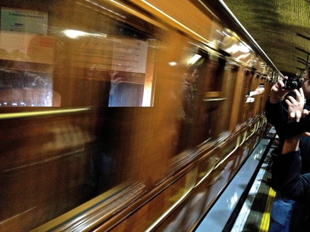 Steam Train Carriages, Baker Street