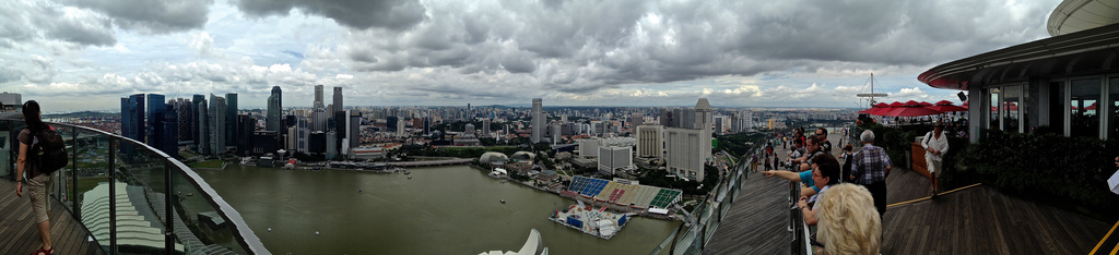 View from Skypark