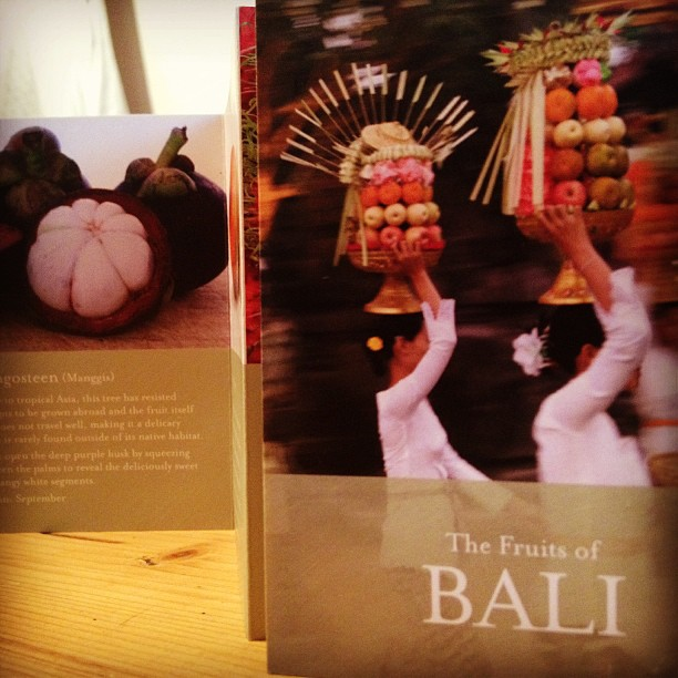 The Fruits of Bali leaflet - Four Seasons Resort at Jimbaran