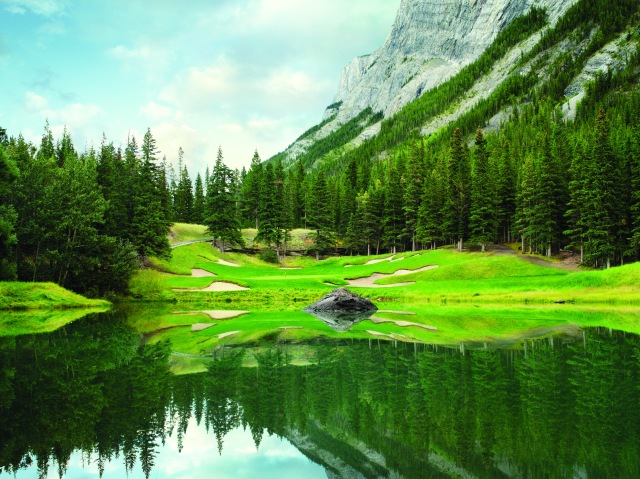 The Fairmont Banff Springs #4 Stanley Thompson CourseBanff, Alberta Canada