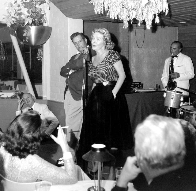 Desi Arnaz Alice Fey 1958