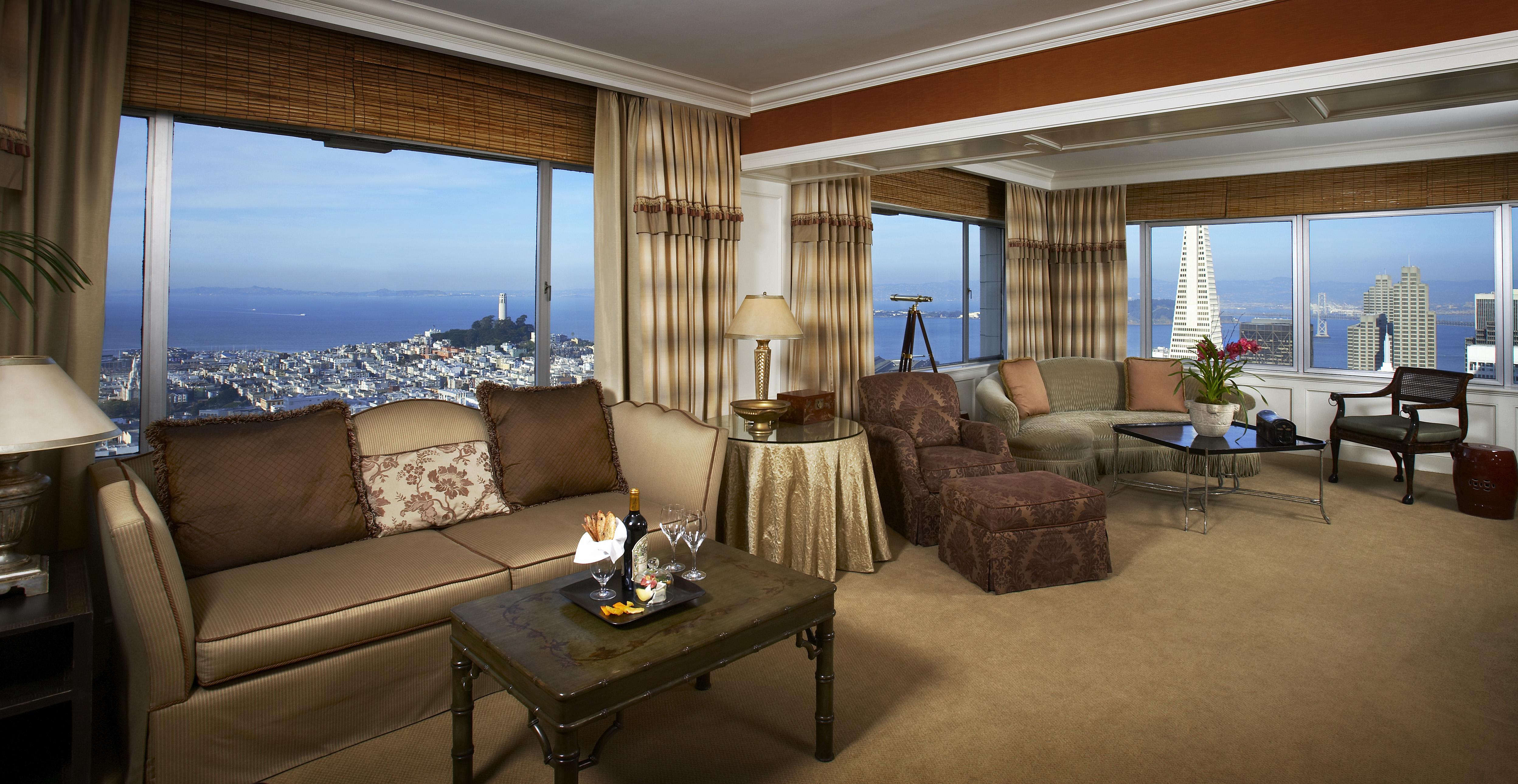 Tony Bennett Suite at Fairmont San Francisco