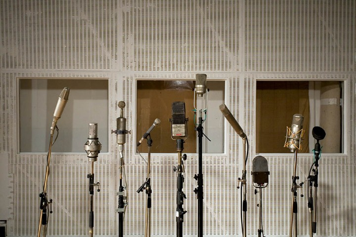 Abbey Road Studios. London. 2008 Studio 2.