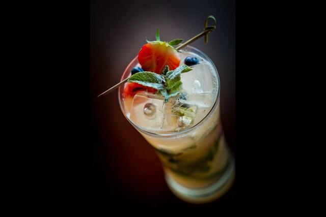 Strawberry Aperol Spritz